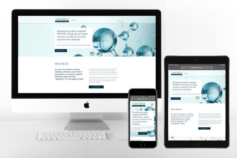 Responsive Website Therabene